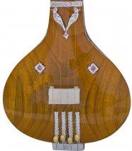 インド民族楽器 フラットタイプ・タンブーラ 小型版