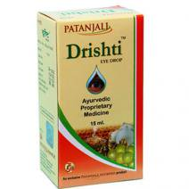 点眼液 〜 ハーバル・アイドロップ(Divya Herbal Patanjali Drishti Eye Drops) 15ml