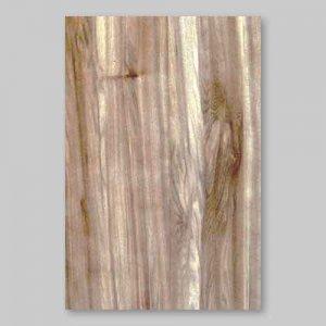 サンプル:天然木のツキ板シート【サテンWナット柾目】(SSサイズ)0.5ミリ厚Easyタイプ(樹脂含侵紙/糊なし)