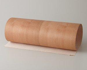 【カバ板目】450*900(シール付き)天然木のツキ板シート「クイックタイプ」