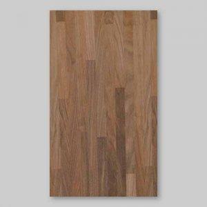 【ウォールナットブロック】A4サイズ(シール付き)天然木のツキ板シート「クイックタイプ」
