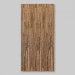 【ウォールナットブロック】450*900(シール付き)天然木のツキ板シート「クイックタイプ」