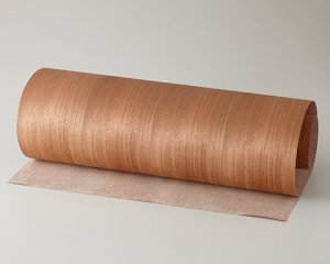 【マホガニー柾目】450*900(和紙貼り/糊なし)天然木ツキ板シート「ノーマルタイプ」