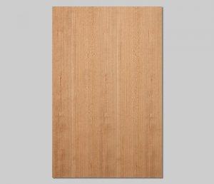 【アメリカンチェリー柾目】A4サイズ(シール付き)天然木のツキ板シート「クイックタイプ」