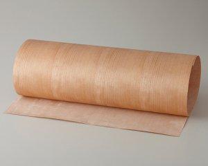 ツキ板 シート【Aチェリー柾目】0.4ミリ厚*450*900:Sサイズ[Quickタイプ](和紙貼り/粘着付き)