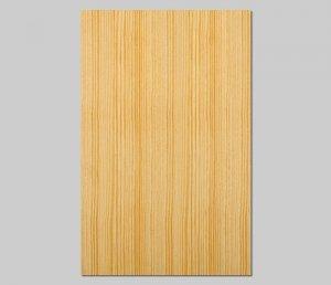 【イエローパイン柾目】A4サイズ(シール付き)天然木のツキ板シート「クイックタイプ」