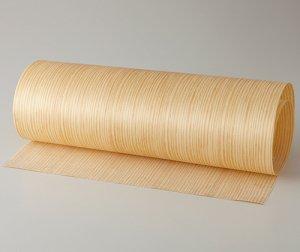 【イエローパイン柾目】450*900(シール付き)天然木のツキ板シート「クイックタイプ」