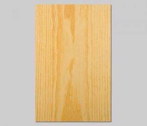 【イエローパイン板目】A4サイズ(シール付き)天然木のツキ板シート「クイックタイプ」