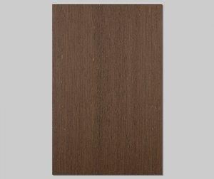 【ウェンジ柾目】A4サイズ(シール付き)天然木のツキ板シート「クイックタイプ」
