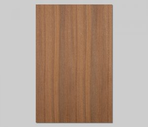 ツキ板 シート【Wナット柾目】0.4ミリ厚*A4:SSサイズ[Quickタイプ](和紙貼り/粘着付き)
