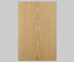 ツキ板 シート【オーク板目】0.4ミリ厚*A4:SSサイズ[Quick](和紙貼り/粘着付き)