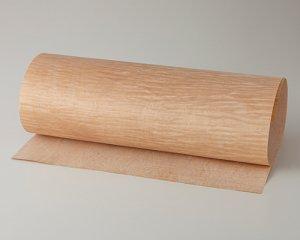 【カーリーメープル杢目】450*900(シール付き)天然木のツキ板シート「クイックタイプ」