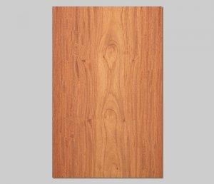 【カリン板目】A4サイズ(シール付き)天然木のツキ板シート「クイックタイプ」