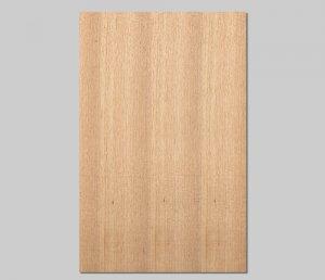 ツキ板 シート【クルミ柾目】0.4ミリ厚*A4:SSサイズ[Quickタイプ](和紙貼り/粘着付き)
