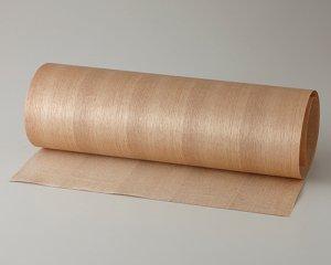 ツキ板 シート【クルミ柾目】0.4ミリ厚*450*900:Sサイズ[Quickタイプ](和紙貼り/粘着付き)