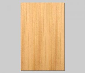 【ケヤキ柾目】A4サイズ(シール付き)天然木のツキ板シート「クイックタイプ」