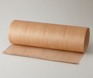 ツキ板 シート【Sシカモア柾目】0.4ミリ厚*A4:SSサイズ[Quick](和紙貼り/粘着付き)