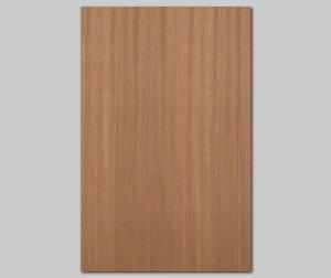 ツキ板 シート【サペリ柾目】0.4ミリ厚*A4:SSサイズ[Quickタイプ](和紙貼り/粘着付き)