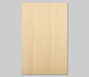 【シナ柾目】A4サイズ(シール付き)天然木のツキ板シート「クイックタイプ」