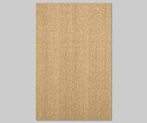 ツキ板 シート【オーク柾目】0.4ミリ厚*A4:SSサイズ[Quick](和紙貼り/粘着付き)