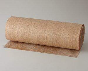 ツキ板 シート【オーク柾目】0.4ミリ厚*450*900:Sサイズ[Quick](和紙貼り/粘着付き)