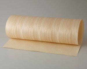ツキ板 シート【キリ柾目】0.4ミリ厚*450*900:Sサイズ[Quickタイプ](和紙貼り/粘着付き)