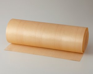 ツキ板 シート【スプルース柾目】0.4ミリ厚*450*900:Sサイズ[Quickタイプ](和紙貼り/粘着付き)
