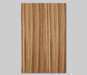 ツキ板 シート【ゼブラ柾目】0.4ミリ厚*A4:SSサイズ[Quickタイプ](和紙貼り/粘着付き)
