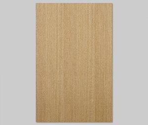 【タモ柾目】A4サイズ(シール付き)天然木のツキ板シート「クイックタイプ」