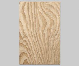 ツキ板 シート【タモ杢目】0.4ミリ厚*A4:SSサイズ[Quickタイプ](和紙貼り/粘着付き)