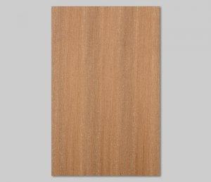 【チーク柾目】A4サイズ(シール付き)天然木のツキ板シート「クイックタイプ」