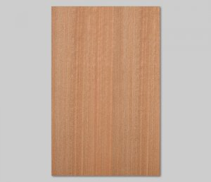 ツキ板 シート【ニヤト柾目】0.4ミリ厚*A4:SSサイズ[Quickタイプ](和紙貼り/粘着付き)