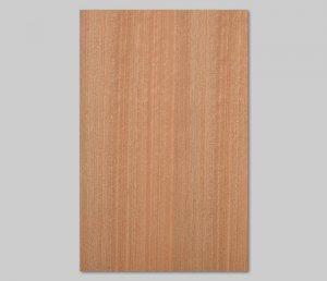 【ニヤト柾目】A4サイズ(シール付き)天然木のツキ板シート「クイックタイプ」