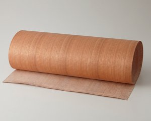 ツキ板 シート【ニヤト柾目】0.4ミリ厚*450*900:Sサイズ[Quickタイプ](和紙貼り/粘着付き)