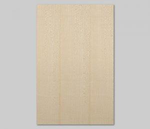 【ハードメープル柾目】A4サイズ(シール付き)天然木のツキ板シート「クイックタイプ」