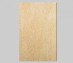 【ハードメープル板目】A4サイズ(シール付き)天然木のツキ板シート「クイックタイプ」