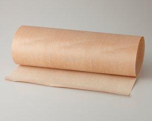 ツキ板 シート【Hメープル板目】0.4ミリ厚*450*900:Sサイズ[Quick](和紙貼り/粘着付き)
