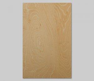 【ハードメープル杢目】A4サイズ(シール付き)天然木のツキ板シート「クイックタイプ」