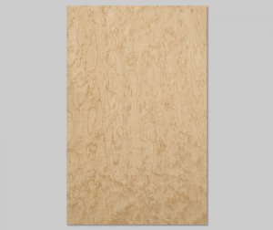 ツキ板 シート【バーズアイMP杢目】0.4ミリ厚*A4:SSサイズ[Quick](和紙貼り/粘着付き)