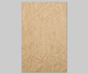 【バーズアイメープル杢目】A4サイズ(シール付き)天然木のツキ板シート「クイックタイプ」