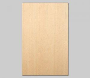 【ヒノキ柾目】A4サイズ(シール付き)天然木ツキ板シート「クイックタイプ」