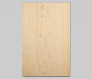【ヒノキ板目】A4サイズ(シール付き)天然木ツキ板シート「クイックタイプ」
