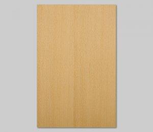 【ブナ柾目】A4サイズ(シール付き)天然木のツキ板シート「クイックタイプ」