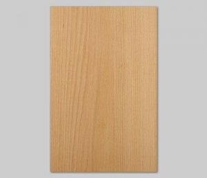 【ブナ板目】A4サイズ(シール付き)天然木のツキ板シート「クイックタイプ」