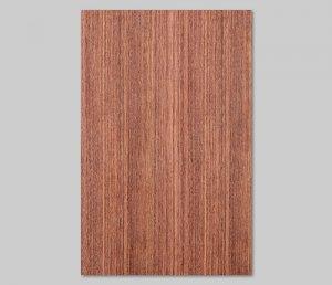 ツキ板 シート【ブビンガ柾目】0.4ミリ厚*A4:SSサイズ[Quick](和紙貼り/粘着付き)