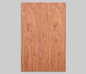 ツキ板 シート【ブビンガ板目】0.4ミリ厚*A4:SSサイズ[Quick](和紙貼り/粘着付き)