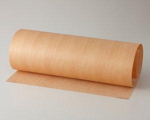 ツキ板 シート【ベイマツ柾目】0.4ミリ厚*450*900:Sサイズ[Quick](和紙貼り/粘着付き)