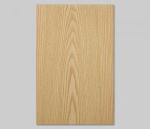 【ホワイトアッシュ板目】A4サイズ(シール付き)天然木のツキ板シート「クイックタイプ」