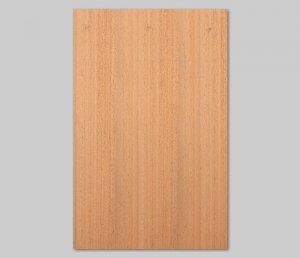 【マホガニー柾目】A4サイズ(シール付き)天然木ツキ板シート「クイックタイプ」
