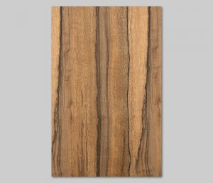 ツキ板 シート【ニューギニアWN柾目】0.4ミリ厚*A4:SSサイズ[Quick](和紙貼り/粘着付き)
